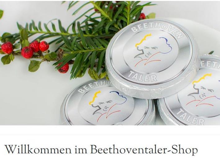 Verkauf Lizenzprodukte: www.beethoven-shop.de